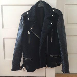 Topshop Moto Jacket size small / 2